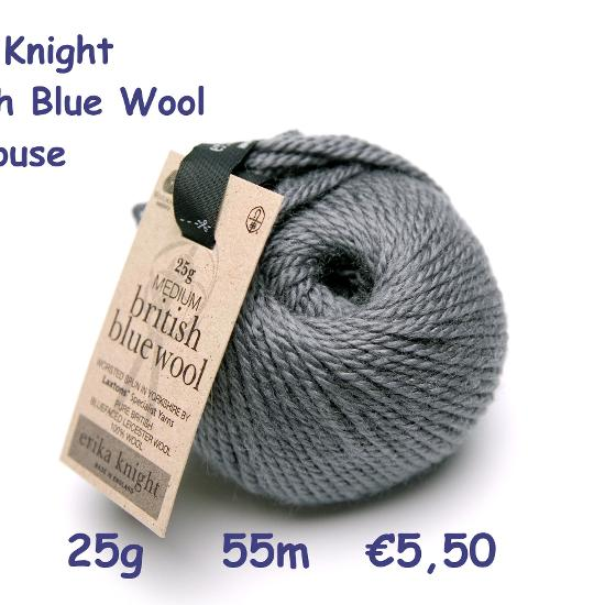 Erika Knight British Blue Wool